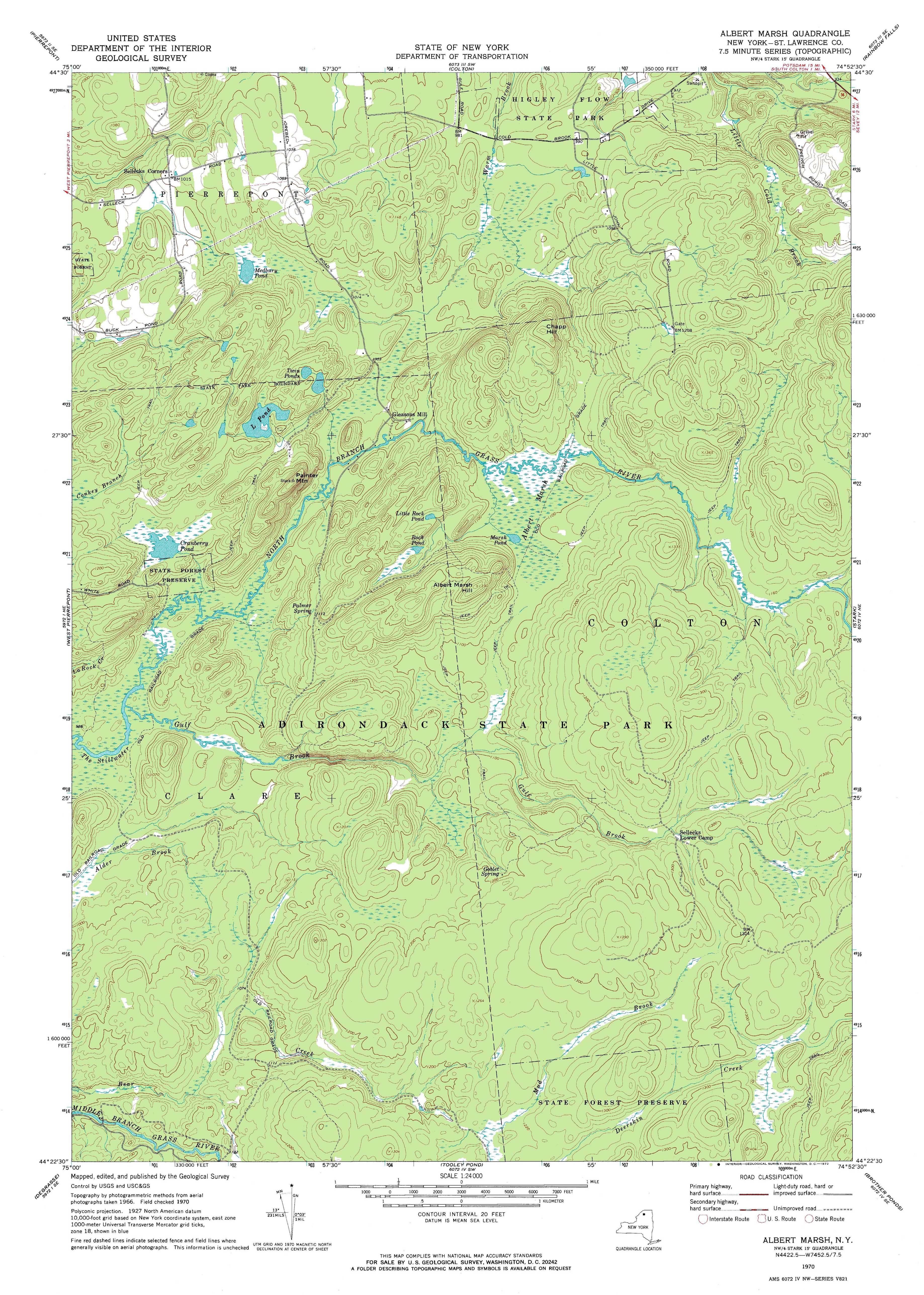 New York Topo Maps Minute Topographic Maps Scale - Topographic map free download