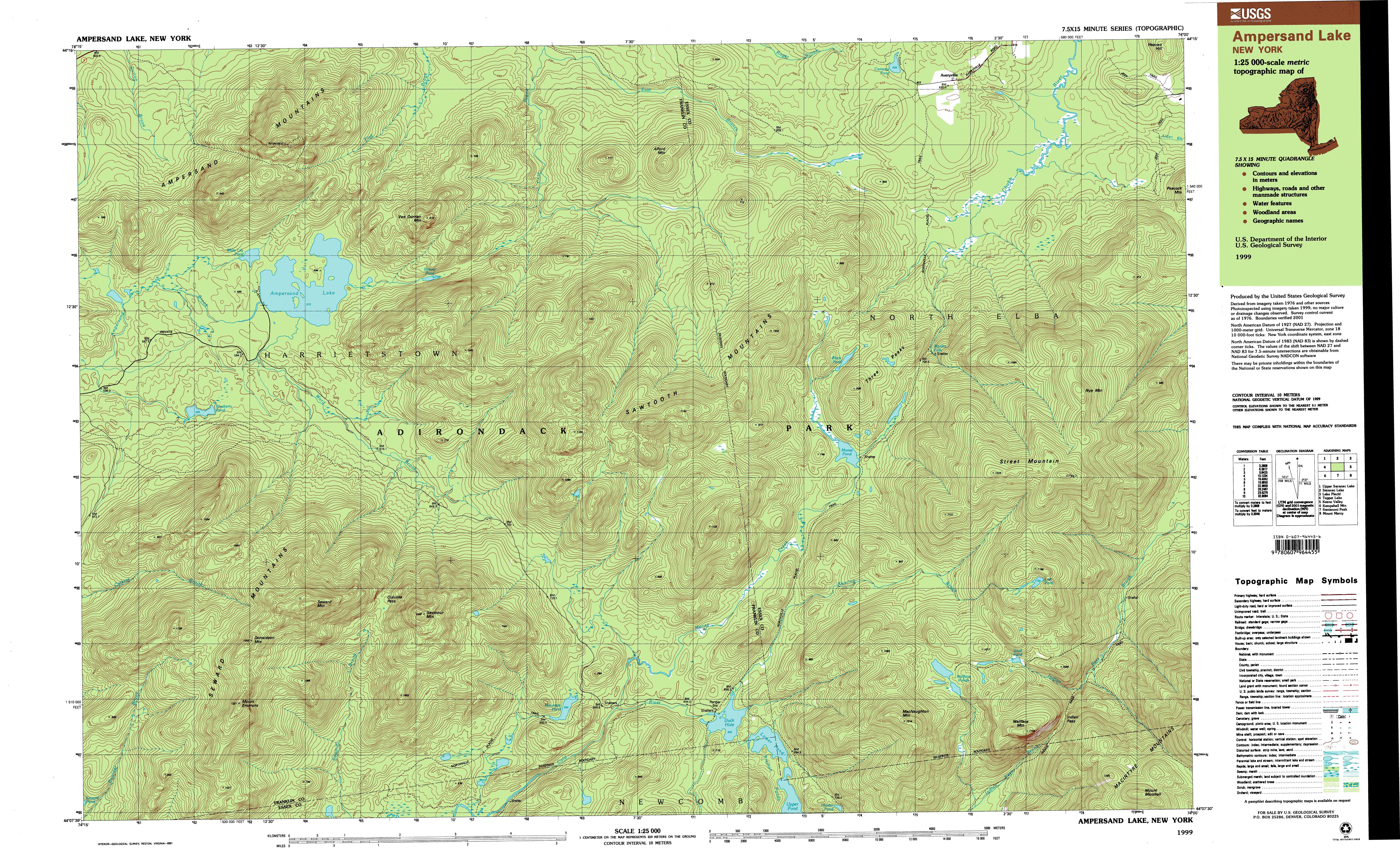 New York Topo Maps  Minute Topographic Maps  Scale - Topographic map of western us