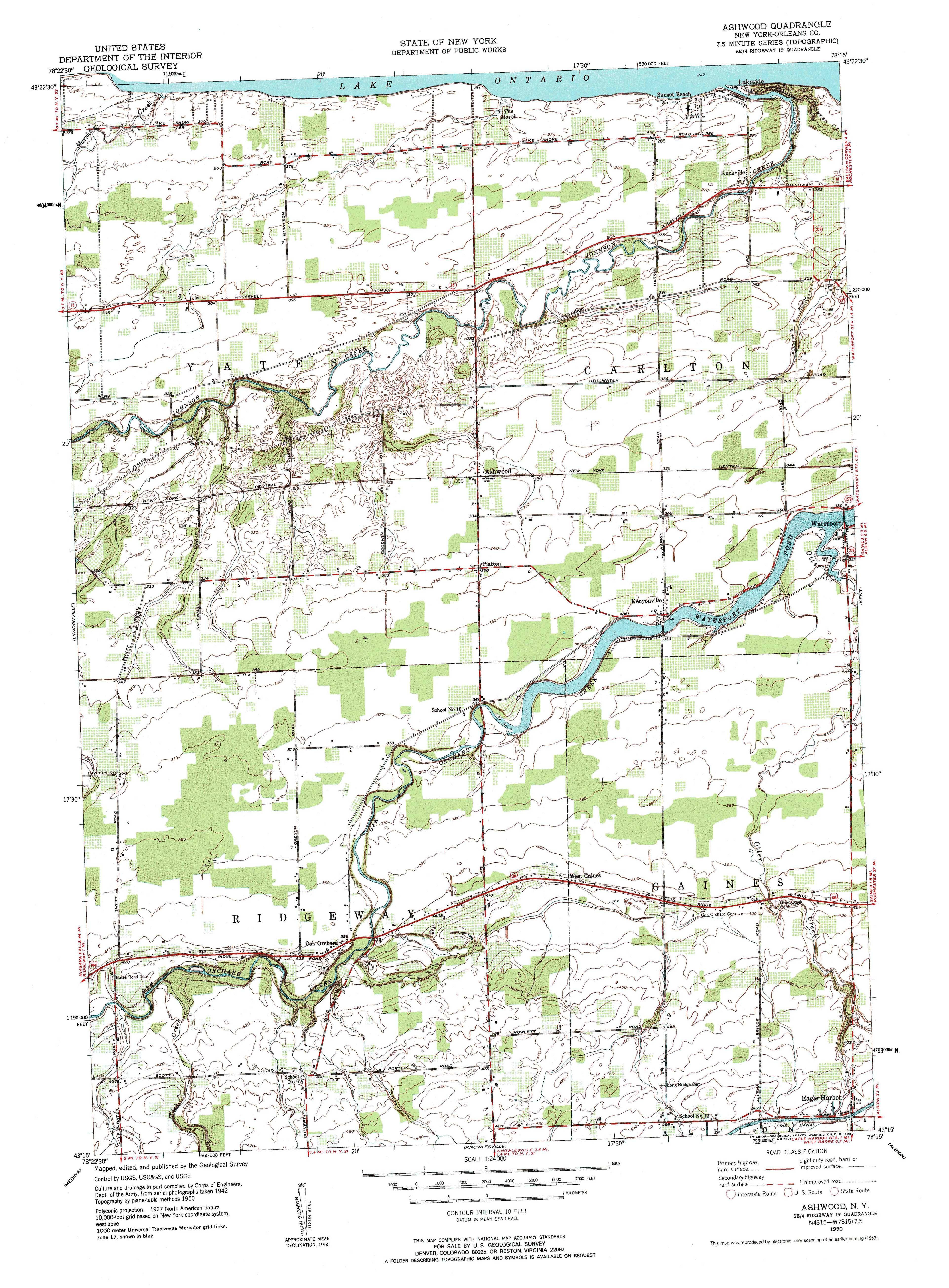 New York Topo Maps  Minute Topographic Maps  Scale - Map of new york state fire districts