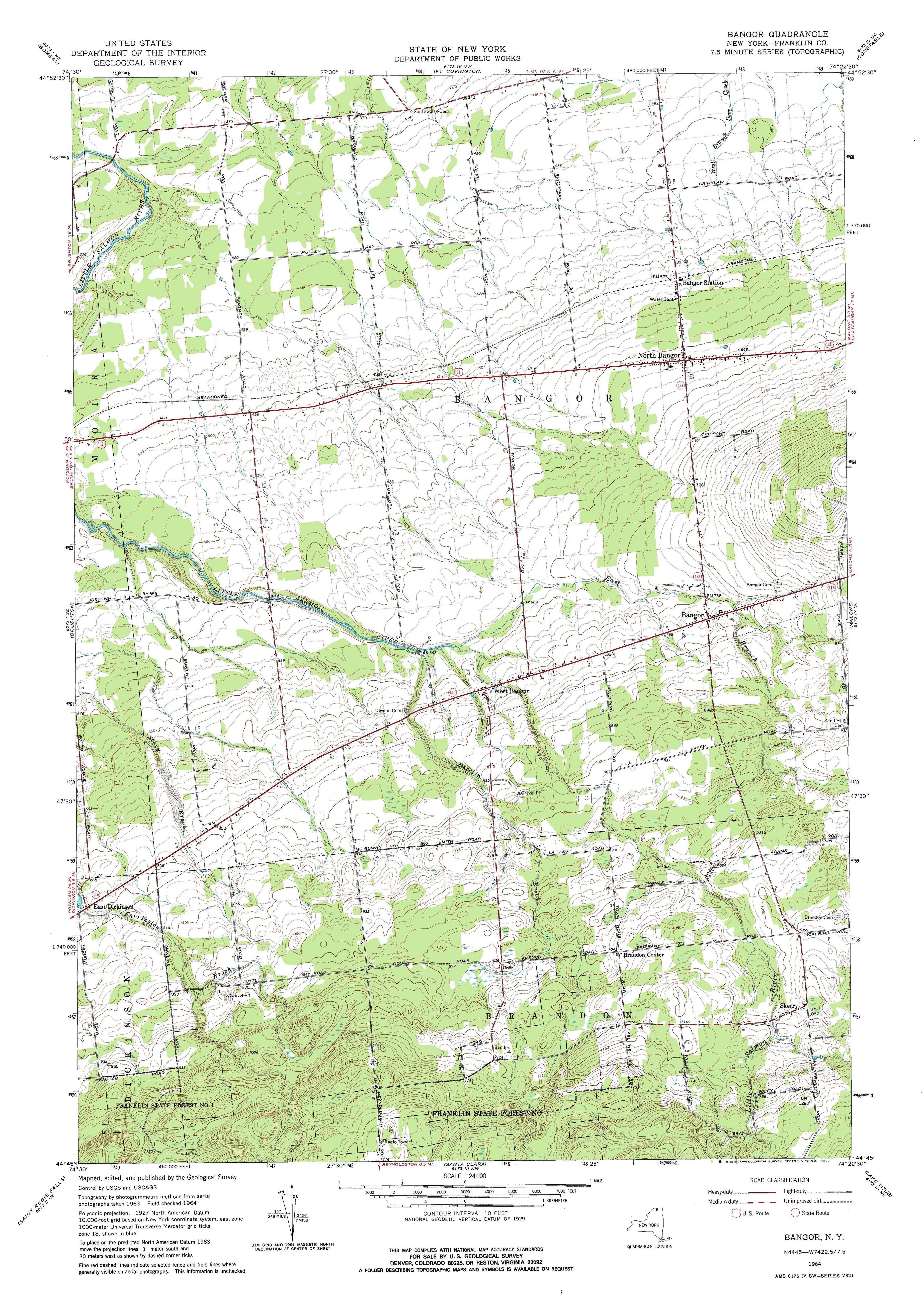 New York Topo Maps Minute Topographic Maps Scale - Us topographic maps online free