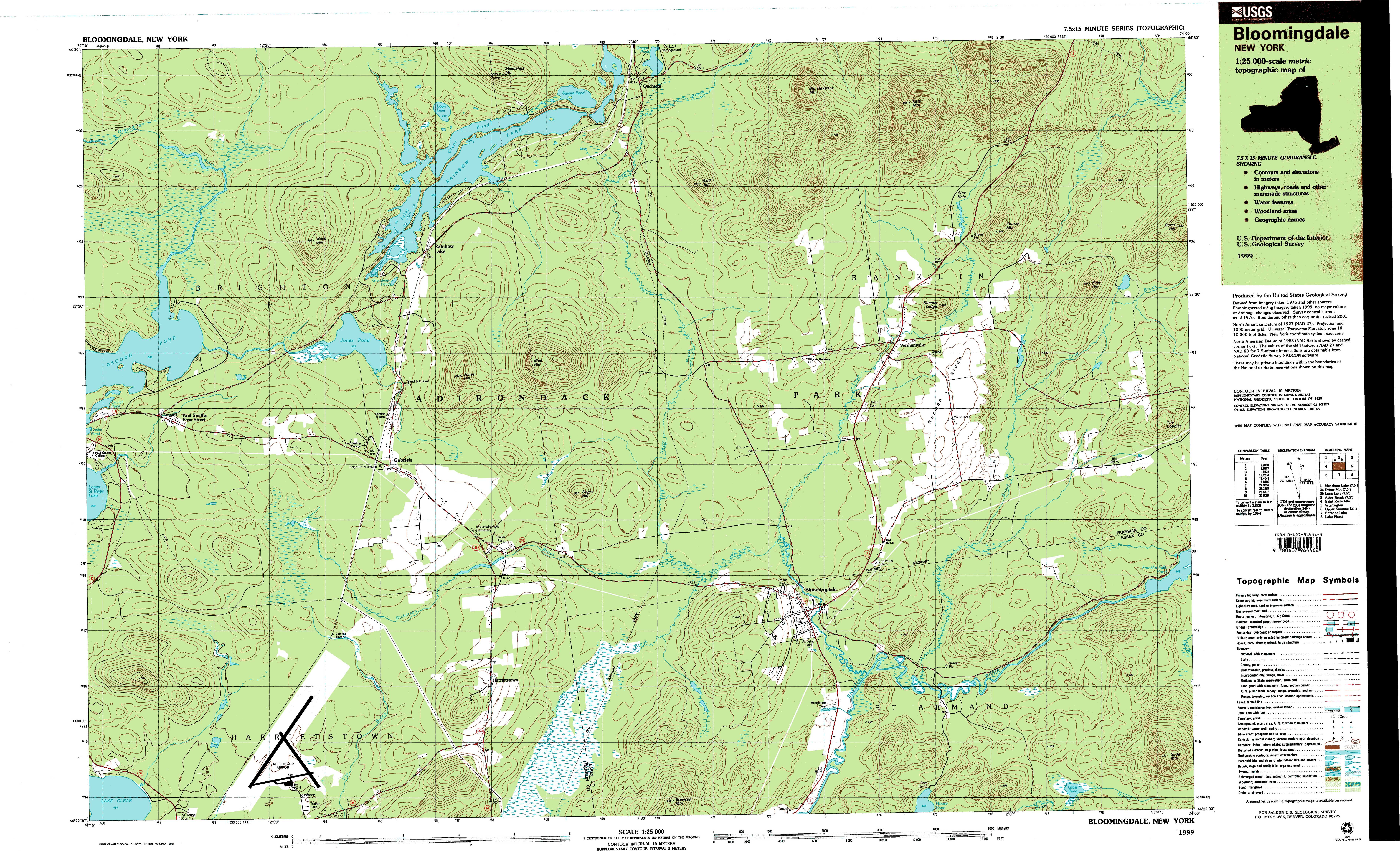New York Topo Maps  Minute Topographic Maps  Scale - Topographic map of eastern us