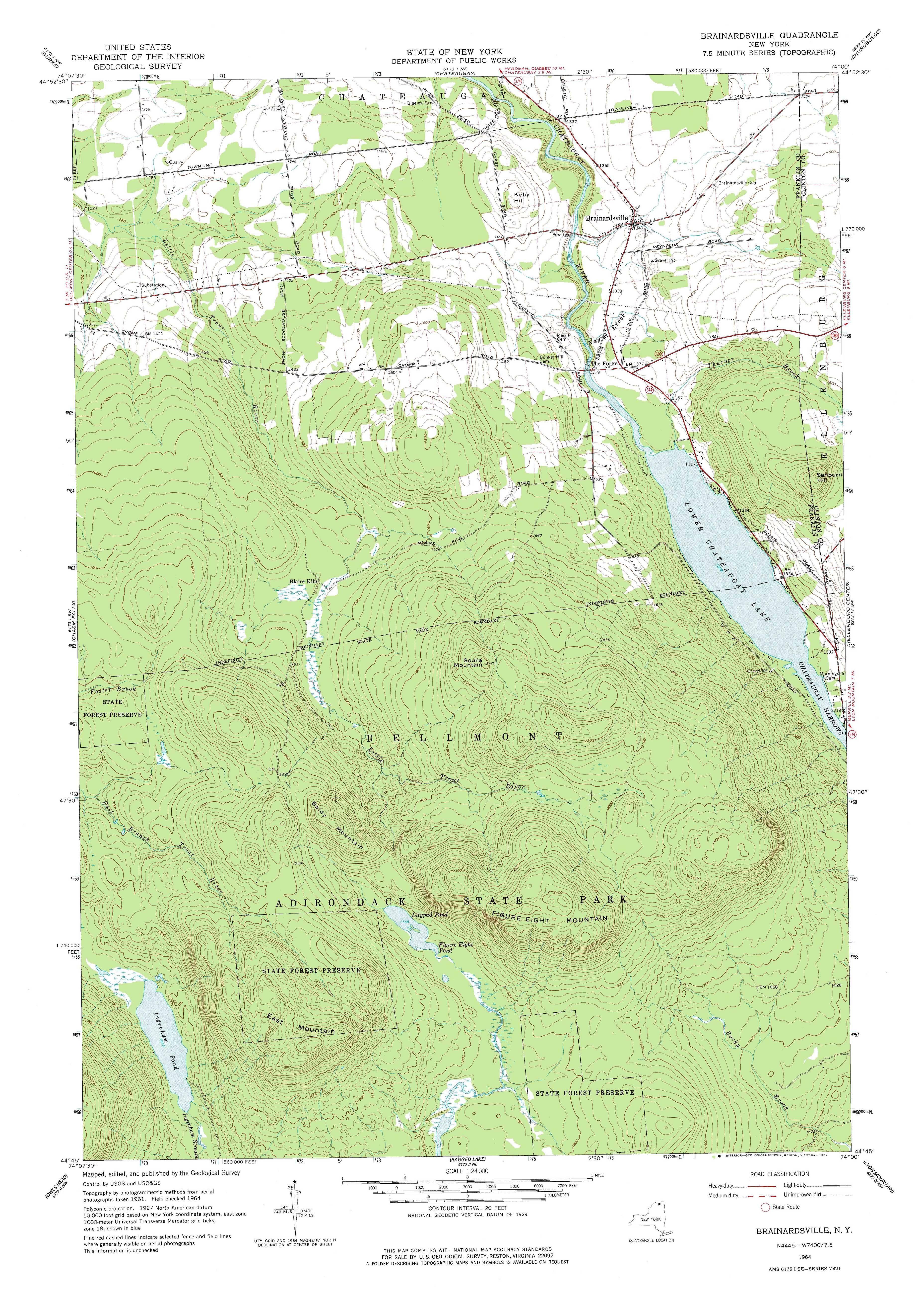 New York Topo Maps 75 minute Topographic Maps 124000 scale