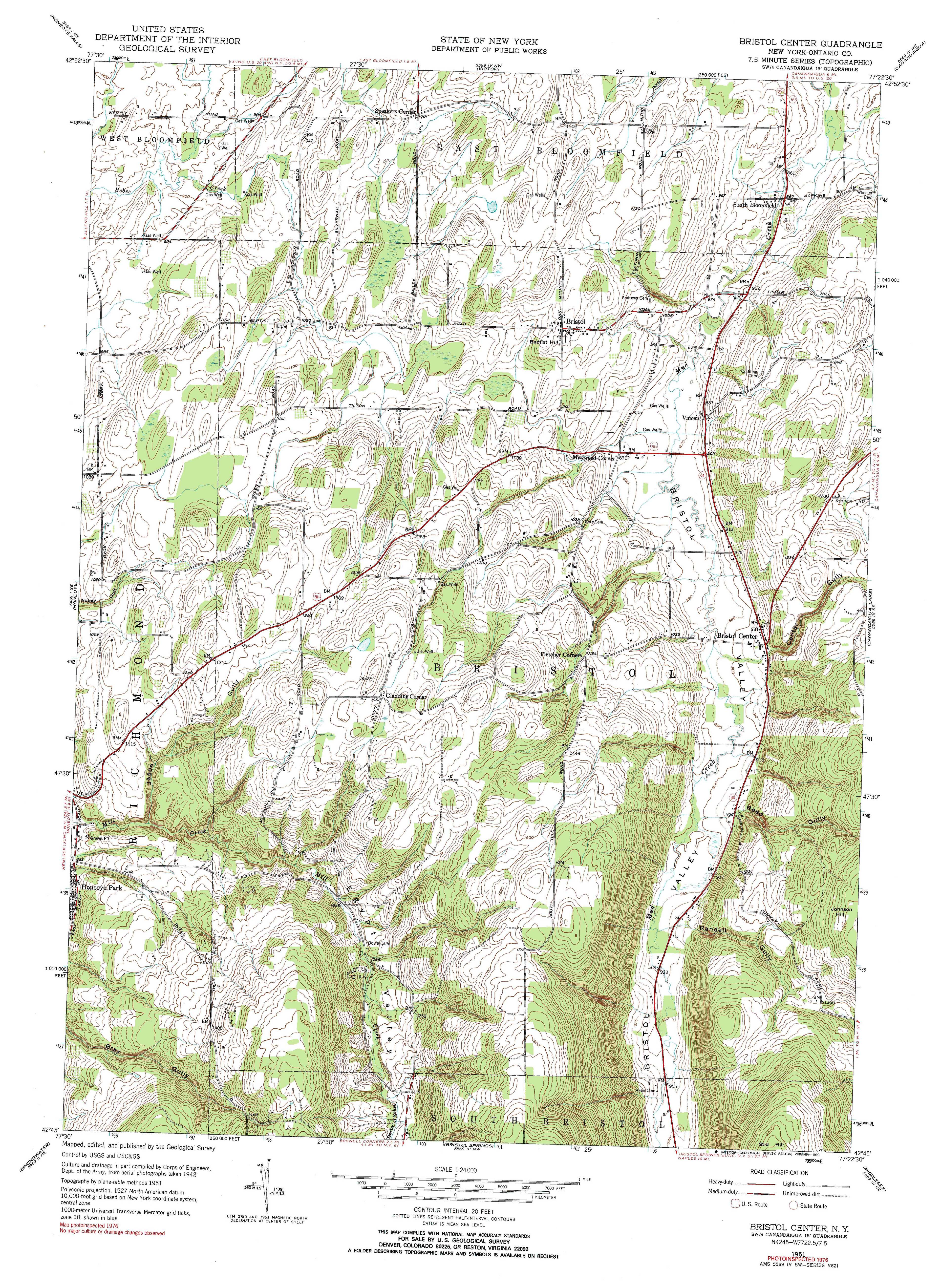 New York Topo Maps Minute Topographic Maps Scale - Usgs quad maps