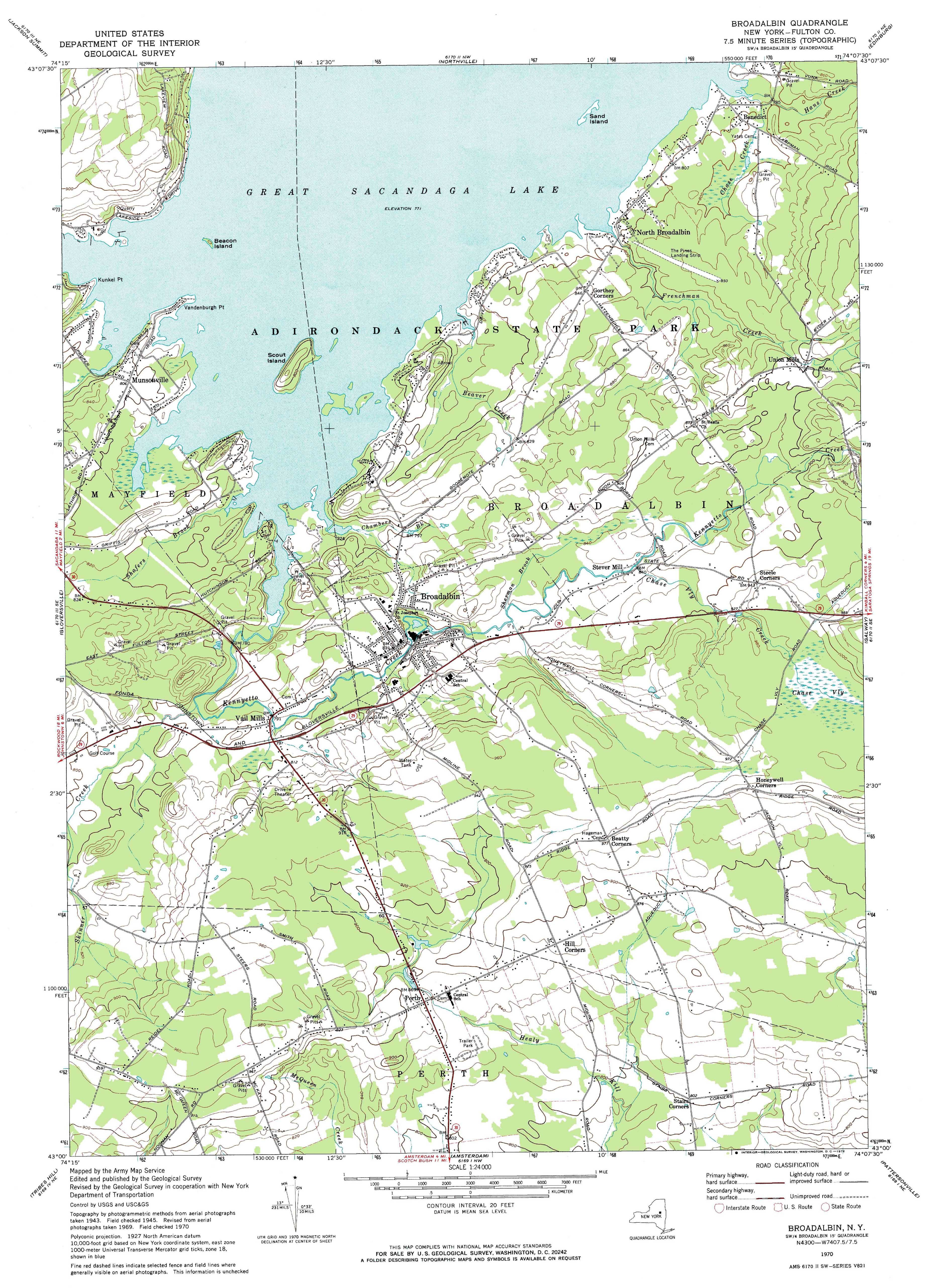 New York Topo Maps Minute Topographic Maps Scale - Ny us map