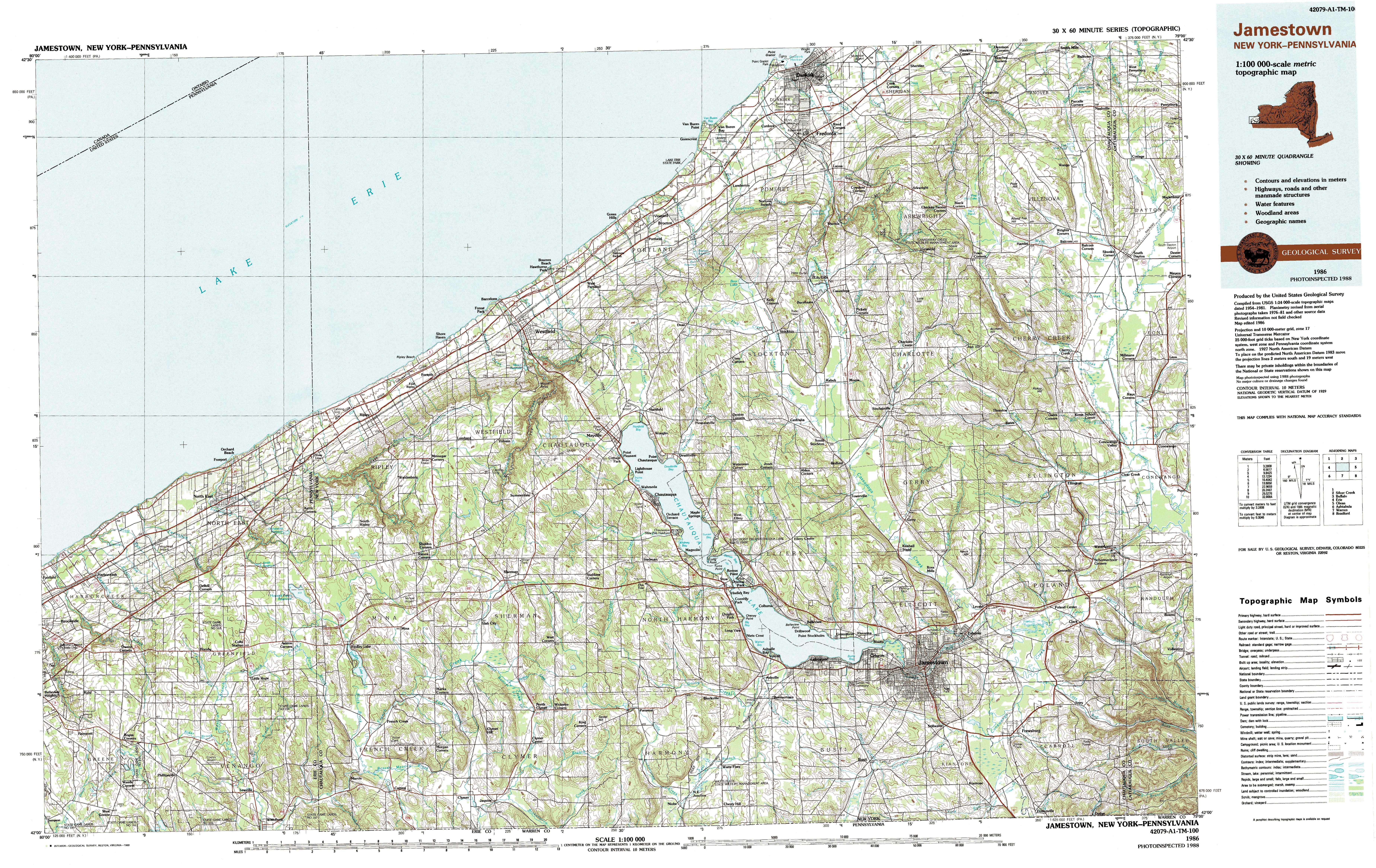 Topographic Map New York State.New York Topo Maps Topographic Maps 1 100 000