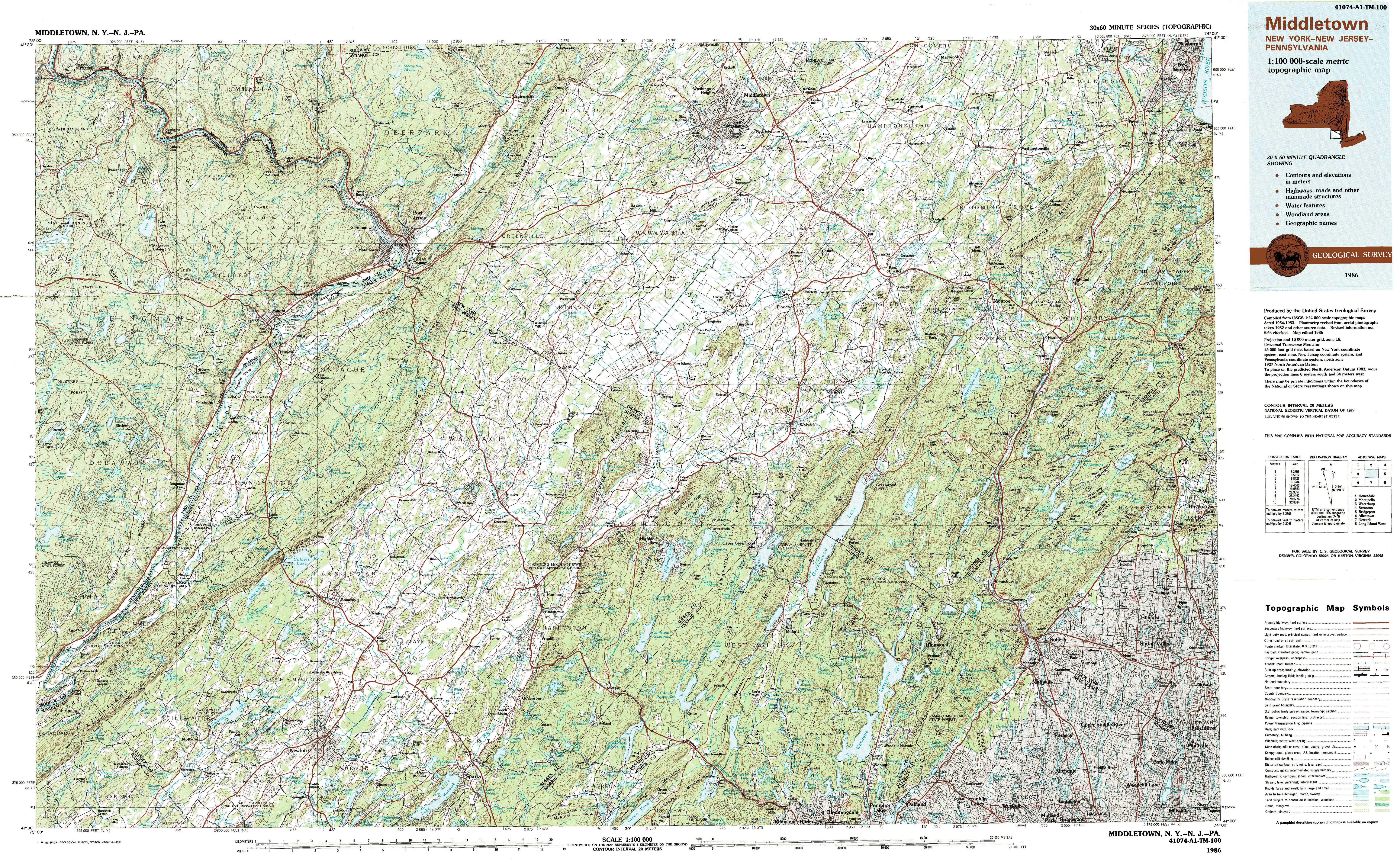 New York Topo Maps Topographic Maps - Topographical map of pa