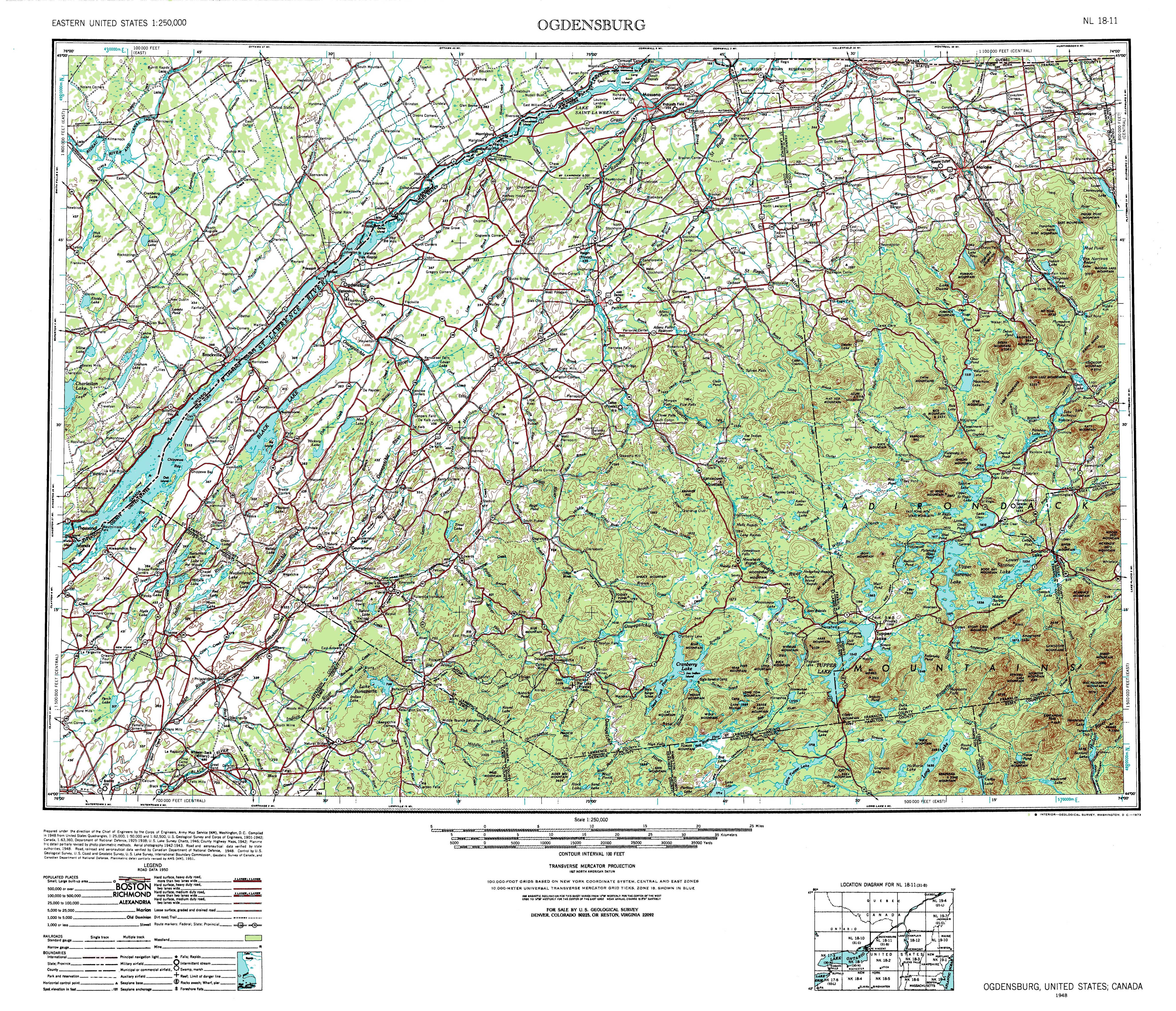 New York Topo Maps Topographic Maps - Colorado topo maps