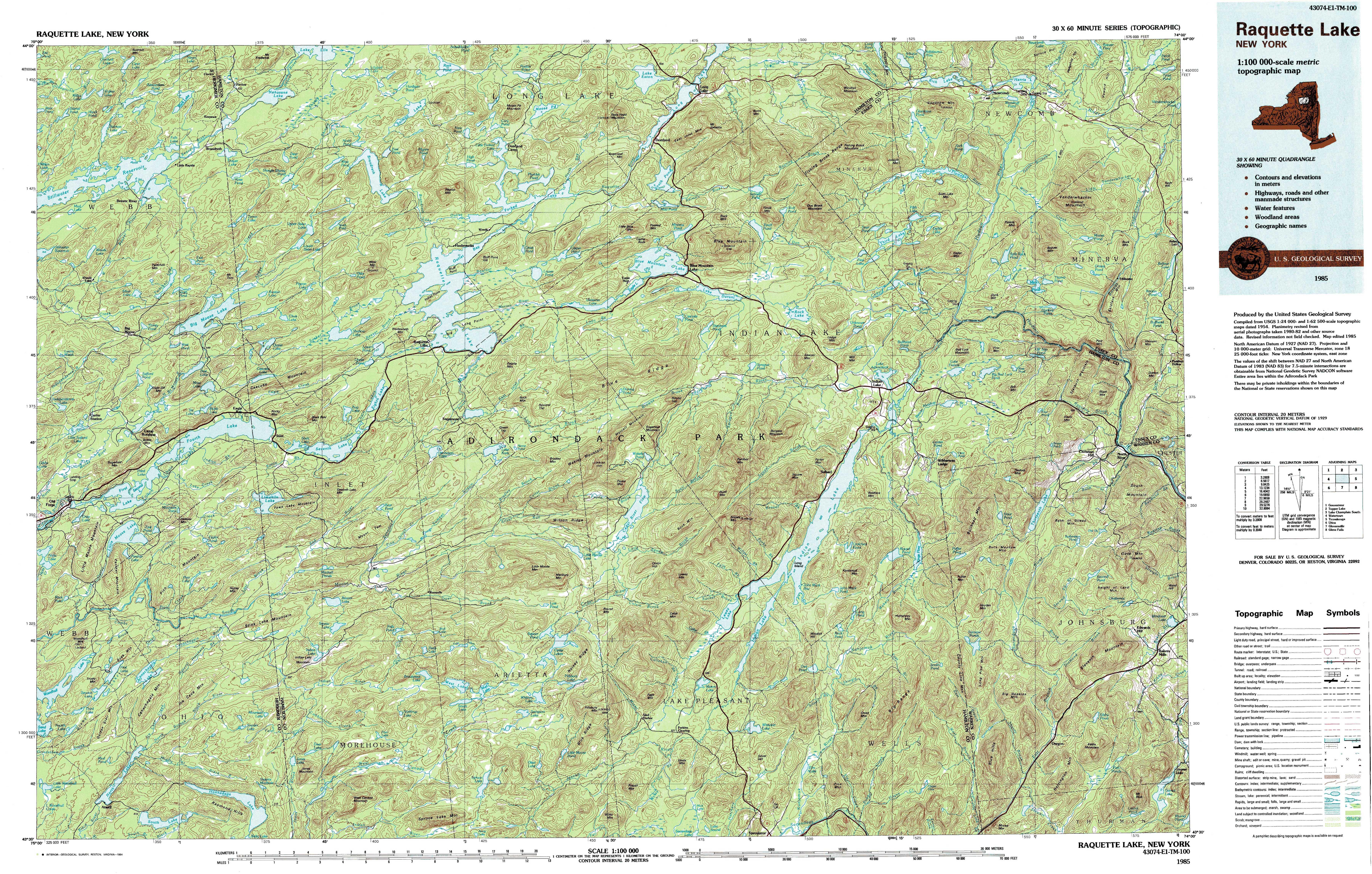 New York Topo Maps Topographic Maps - Usgs topo quad maps