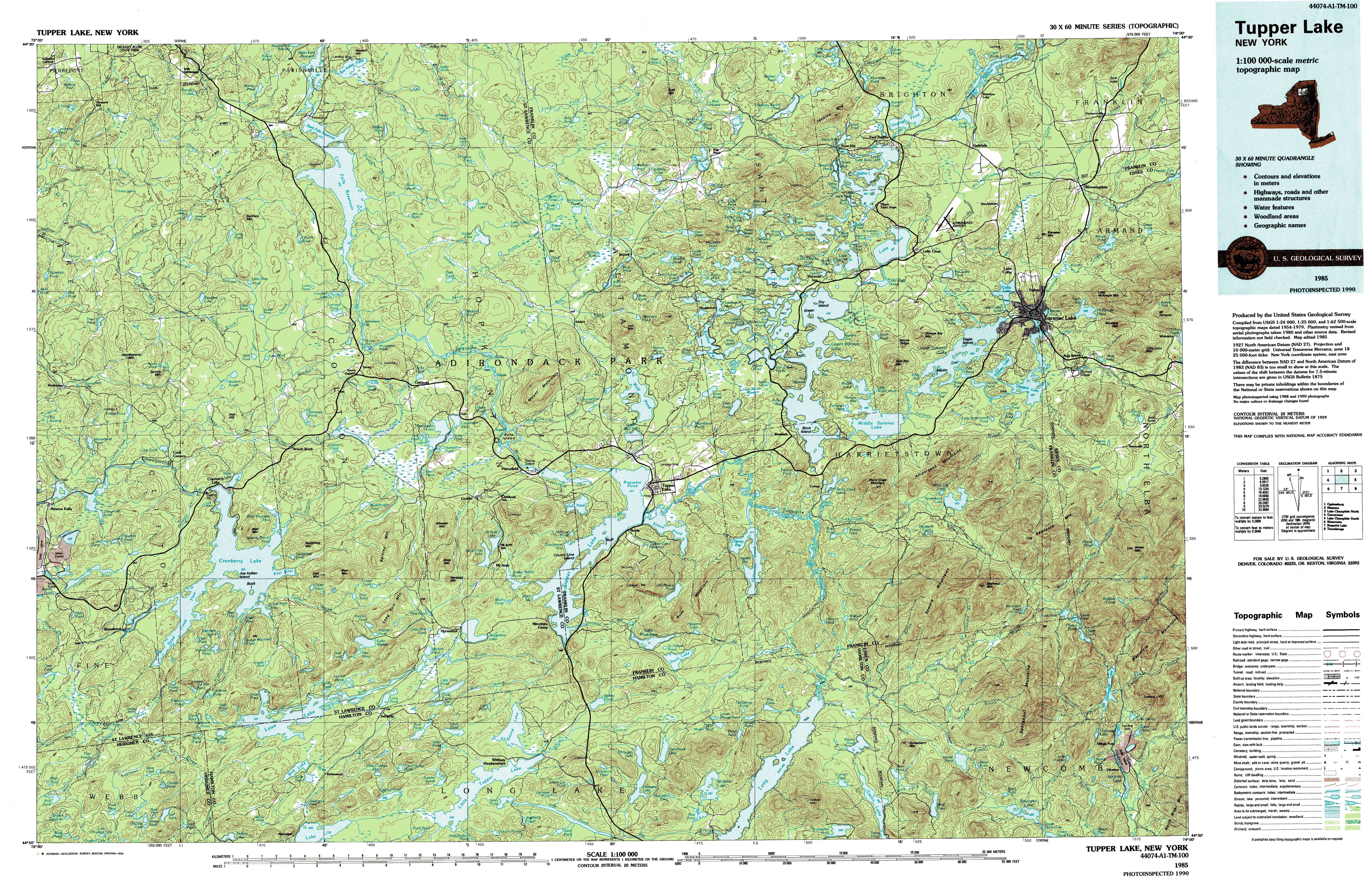 New York Topo Maps Topographic Maps - Topographic map of eastern us